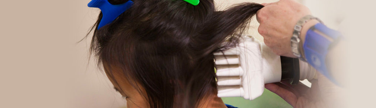 Use of AirAlle device for head lice treatment